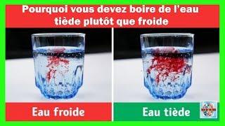 Zapętlaj Pourquoi vous devez boire de l'eau tiède plutôt que froide | Best of the web