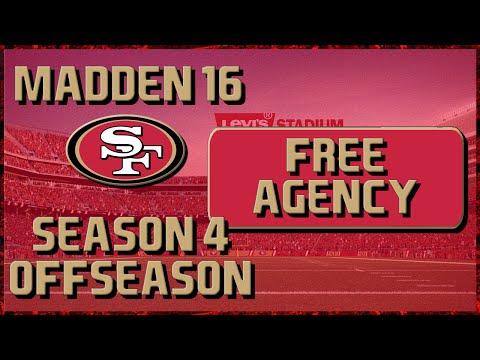 Madden 16 Franchise: San Francisco 49ers | Year 4, Offseason Part 1: Free Agency