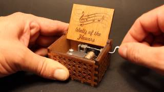 Waltz of the Flowers - The Nutcracker - Tchaikovsky - Music box by Invenio Crafts