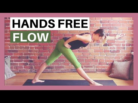 Hands Free Vinyasa Flow Yoga Class with No Planks or Downward Dog