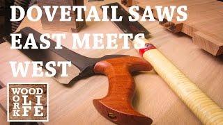 Z Saw Dozuki vs. Veritas Western Backsaw - East Meets West | Hand Tool Shootout