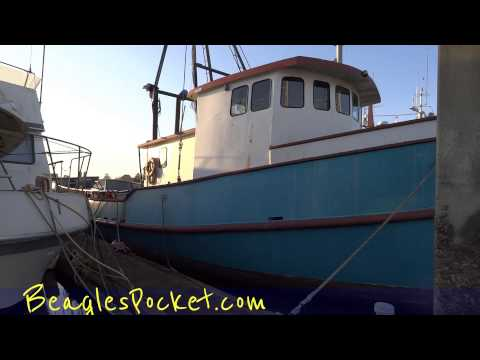 Ship Commercial Fishing Boat Vessel For Sale Video HouseBoat Project Rowing Practice