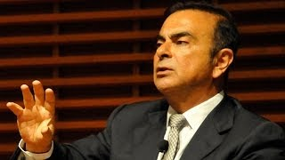 CEO Carlos Ghosn of Renault-Nissan Alliance on Innovation