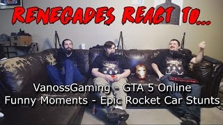 GTA 5 Online Funny Moments - Epic Rocket Car Stunts!-00C6