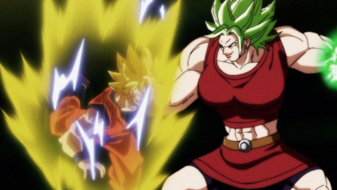 Leaked Imaged Kale Destroys Goku Dragon Ball Super Episode 100