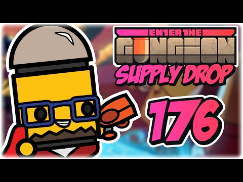 Cursed Companion | Part 176 | Let's Play: Enter the Gungeon: Supply Drop | Marine PC Gameplay