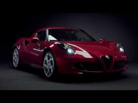 L'Alfa Romeo 4C sous tous les angles
