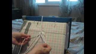 Плетение пояса в технике макраме Урок 2