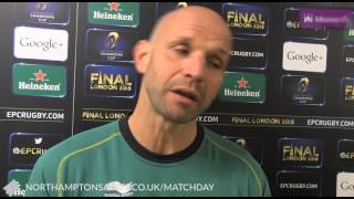 SAINTS 34 OSPREYS 6 Jim Mallinder reaction