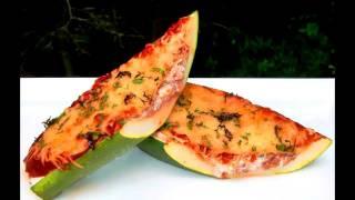 Low Carb Italian Stuffed Zucchini