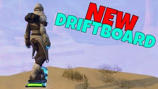 NEW Driftboard Gameplay! How to Find Driftboard   Fortnite Save The World