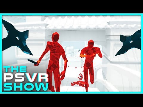 Superhot Might Be the Coolest VR Game Ever - The PlayStation VR Show Ep. 1