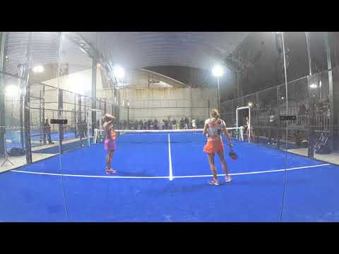 Mendonça / Nogueira vs Collombon / Ginier Championnats d'Europe de Padel 2017 - Tennis Club Estoril