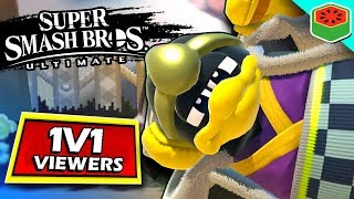 I challenged my viewers to 1v1's in Super Smash Bros. Ultimate