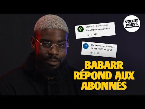 Youtube: Interview G.A.V | Babarr répond aux abonnés