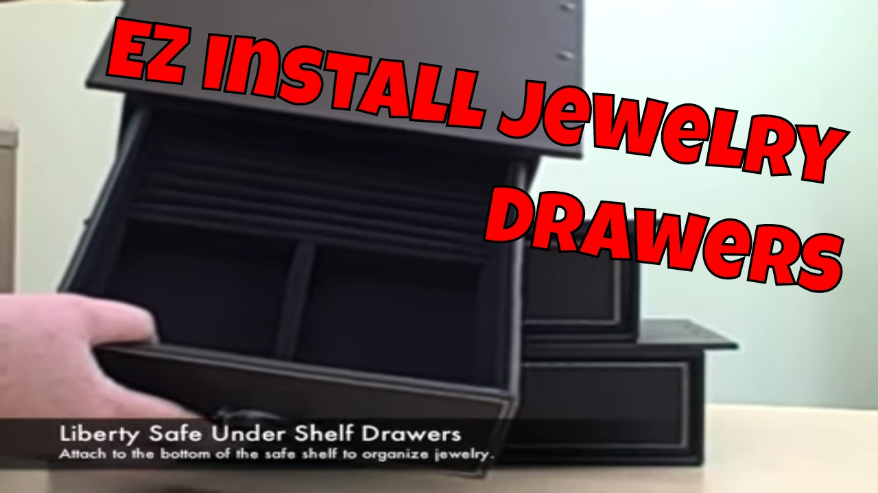 Jewelry Drawer for your Safe or Vault by Liberty Safe DYI YouTube