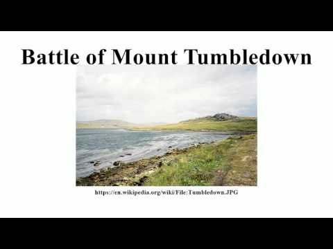 Battle of Mount Tumbledown