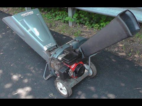 Craftsman Chipper Shredder 6 5hp