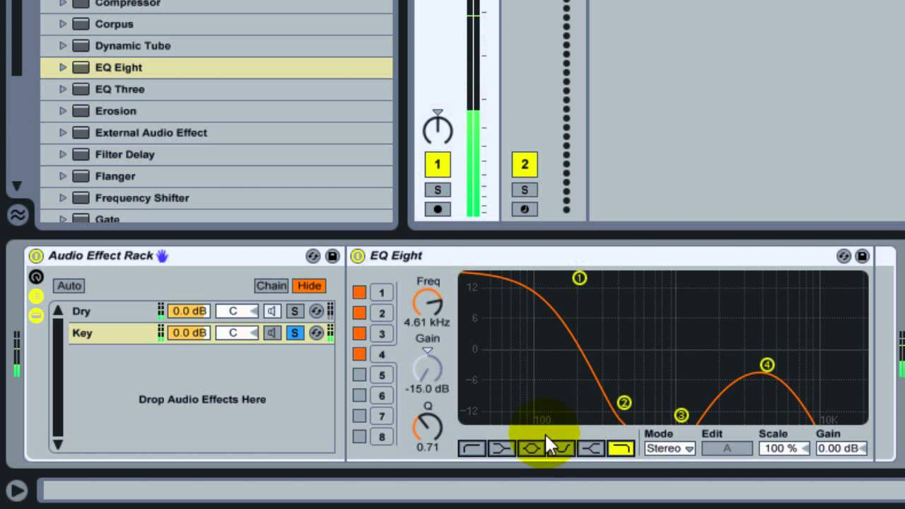 how to make bass louder ableton