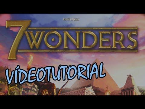 7 Wonders  - Juego de mesa - Reseña/aprende a jugar