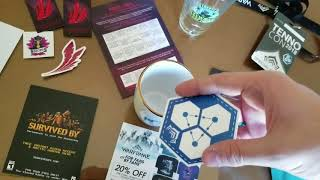Tennocon Vlog? - Day 0 Catch Up and Swagbag