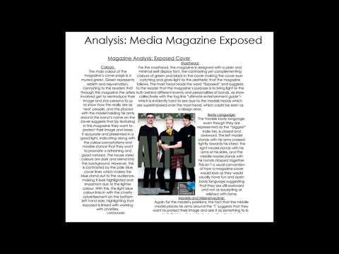 Music Magazine Analysis Task 1