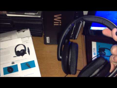 Turtle Beach Ear Force Nll Wii U Headset Un Boxing