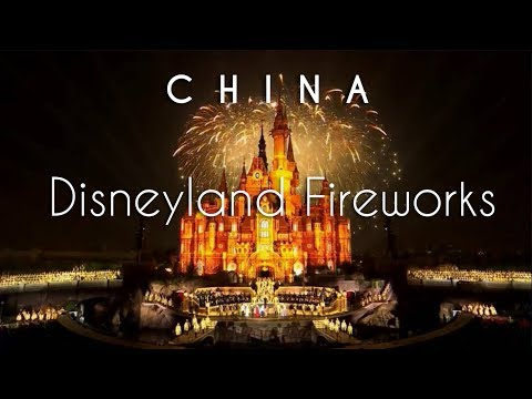 Shanghai Disneyland | Complete Fireworks & Light Show | China Travel Guide