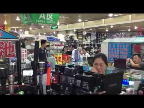 Hua Qiang Bei Electronics Market in Shenzhen, China