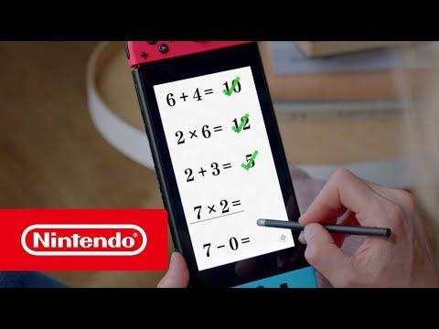 Dr Kawashima's Brain Training for Nintendo Switch - Announcement Trailer (Nintendo Switch)