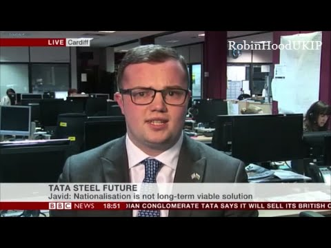 UKIP Llyr Powell We could save Welsh Steel out of the EU