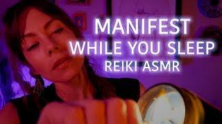 Sleep and Manifest via Subconscious Assignment, Reiki ASMR Whisper
