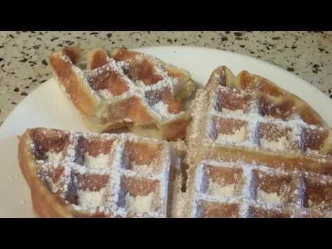 Presto Flipside Belgian Waffle Maker--Making Waffles