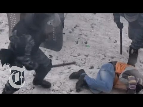 Ukraine Protests 2014: Violent Clashes in Kiev   The New York Times