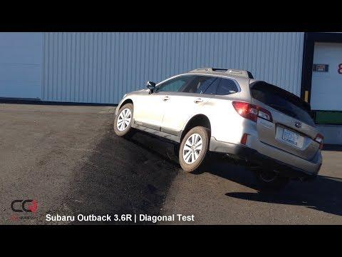 X-Mode Diagonal TEST: Subaru Outback 3.6R | The king of AWD?