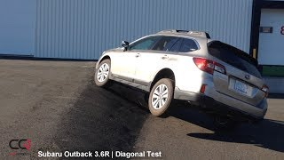 X-Mode Diagonal TEST: Subaru Outback 3.6R | The king of AWD?