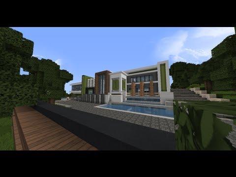 Visite D 39 Une Maison Moderne Fr Minecraft 4 Par Craftdark
