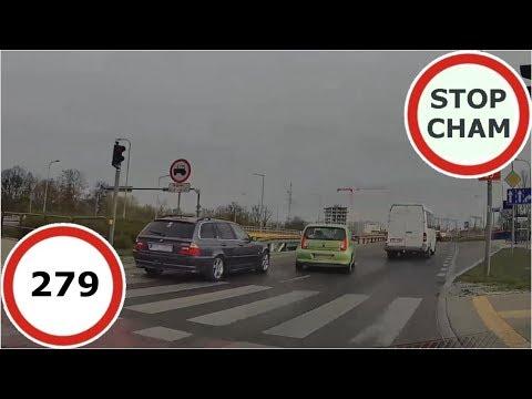 Stop Cham #279 - Niebezpieczne I Chamskie Sytuacje Na Drogach