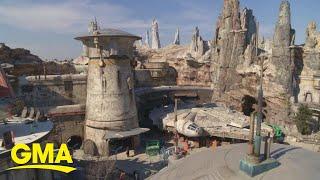 First look at Disneyland's new Star Wars: Galaxy's Edge l GMA