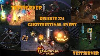 Drakensang Online TESTSERVER - Release 224: Ghostfestival Event