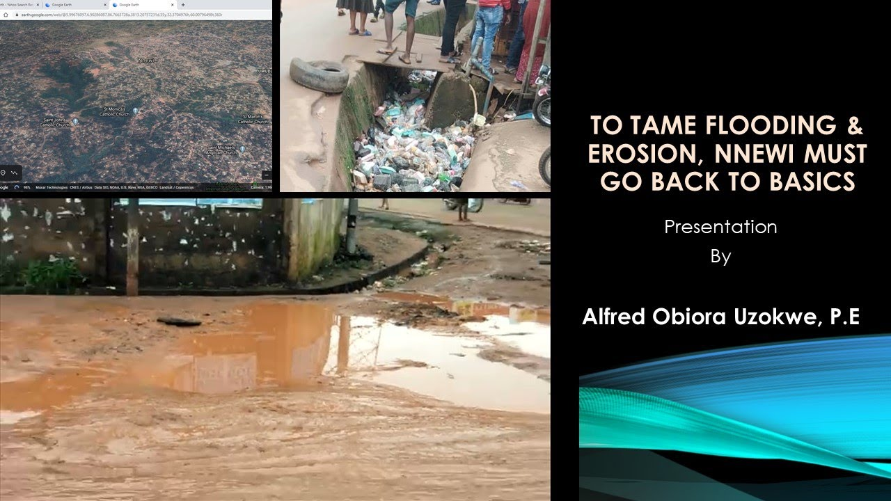 Download To Tame Flooding and Erosion, Nnewi Must Go Back To Basics by Alfred Obiora Uzokwe, P E.