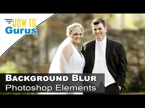 How To Add Soft Focus Background In Adobe Oshop Elements Tutorial