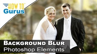 how to add a soft focus background in adobe photoshop elements 15 14 13 12 11 tutorial