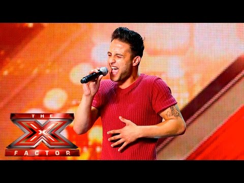 Anton Banaghan takes on George Ezra hit | The X Factor UK 2015