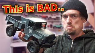 Worlds WORST RC Crawler Car