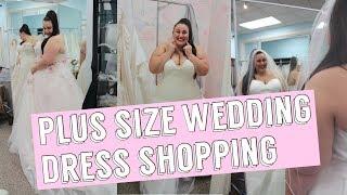 PLUS SIZE WEDDING DRESS SHOPPING   Bombshell Bridal Boutique