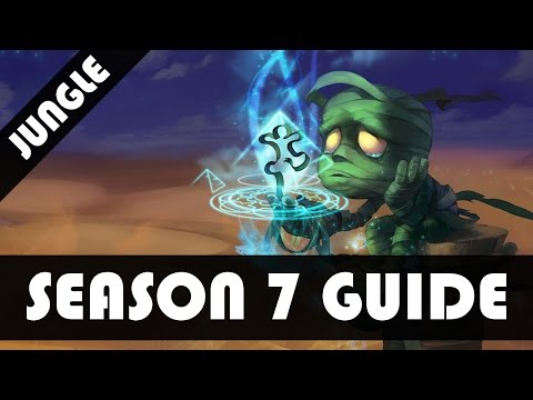 Amumu Jungle Guide - League of Legends Amumu Jungle Commentary Guide [Season 7]