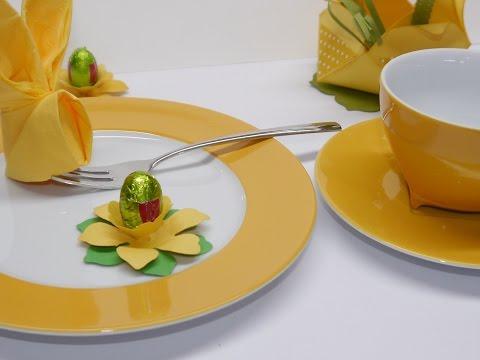 #Basteltipp der Woche Nr.9 - Tischdeko für Ostern