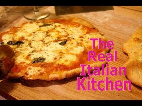Pizza Dough Recipe - For Thin Crust Crunchy Pizza Part 1 - Real