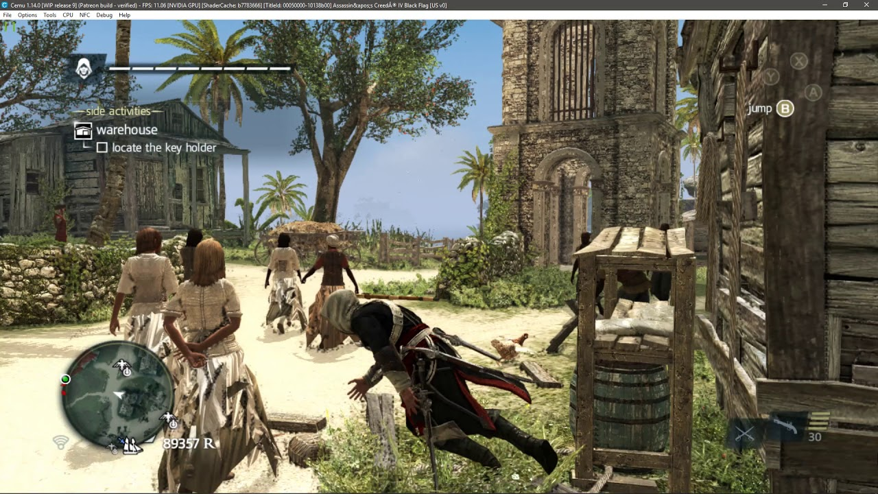 Cemu 1 14 0[WIP release9]Assassin's Creed IV: Black Flag